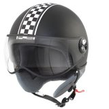 CASCO 1/2 JET TNT PUCK CAFE RACER