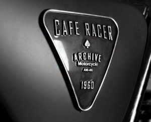 Cafe Racer Grey Metal